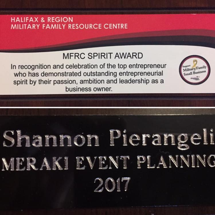 MFRC Spirit award