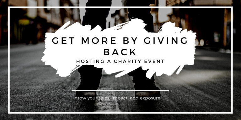 get more by giving back