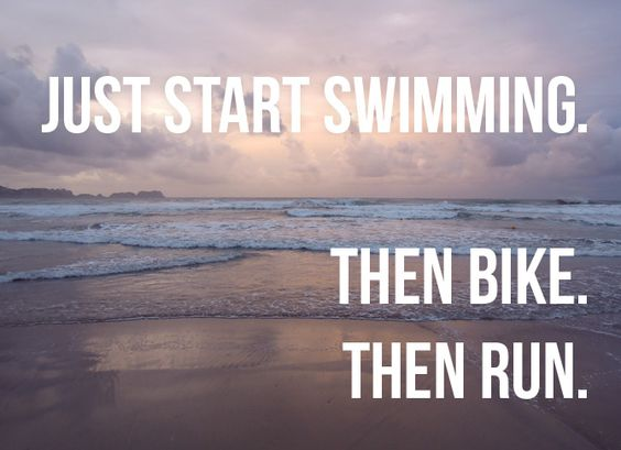 Swim.Bike.Run.