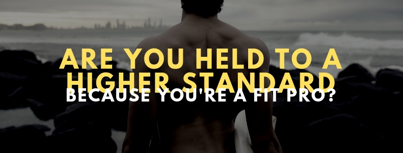 It's time to get real, fitpros!